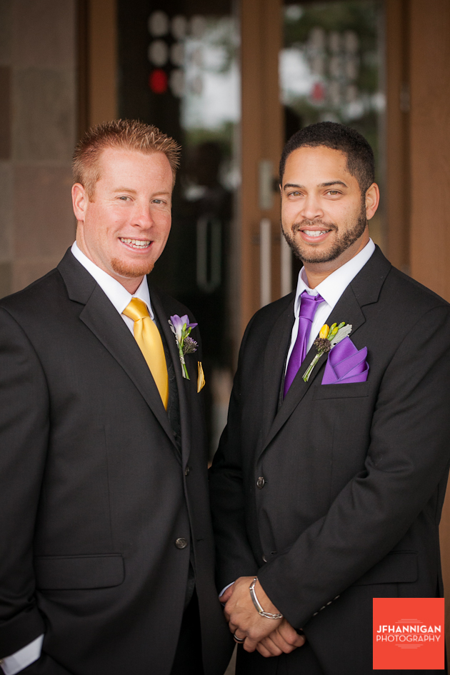 groom and attendent