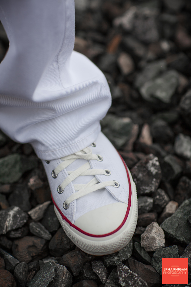 red and white shoes, Graduation Photo Shoot, Niagara Wedding Photography