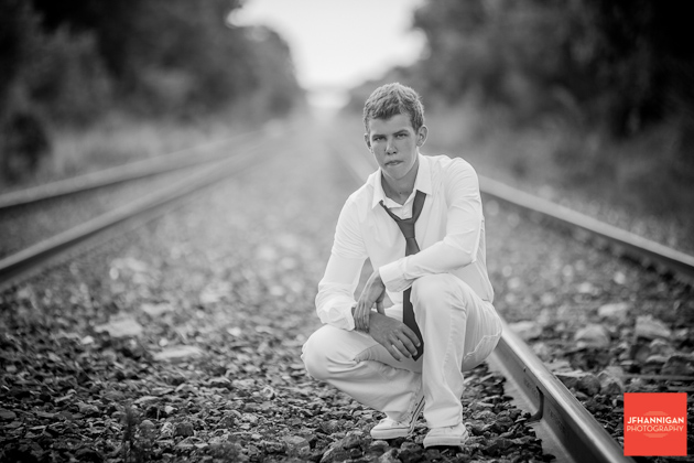 Train Tracks, black and white, Graduation Photo Shoot, Niagara Wedding Photography