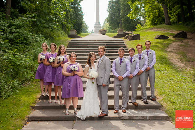 Wedding Party, Queenston Heights, Brock Monument, Wedding Day, Niagara Wedding Photographer, Niagara Wedding Photography