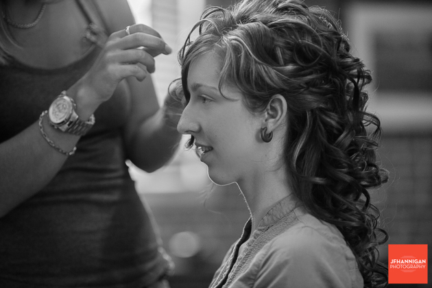 Black and white, Wedding Hair, Wedding Details, Wedding Day, Niagara Wedding Photographer, Niagara Wedding Photography