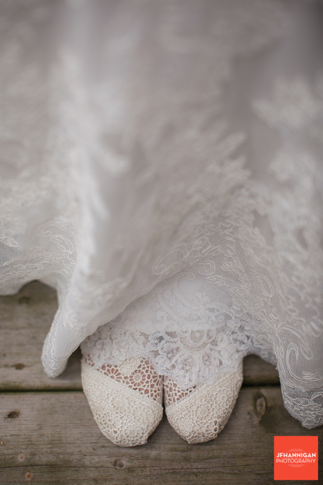 Bride, Wedding Shoes, Wedding Dress, Wedding Details, Wedding Day, Niagara Wedding Photographer, Niagara Wedding Photography