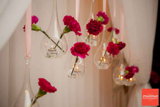carnation wedding decorations