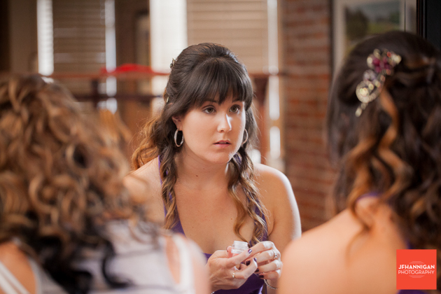 bridesmaids in preparations