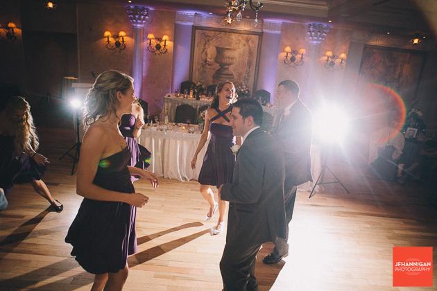 rececption dancing