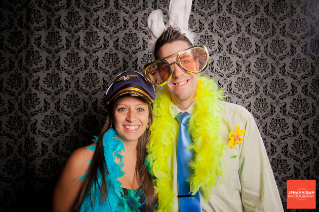 photobooth at wedding reception