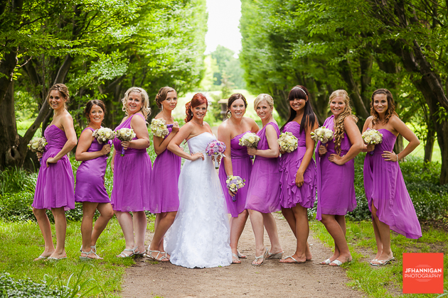 niagara, wedding, joel, hannigan, photography, bridesmaids