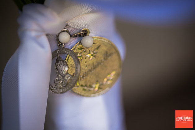 niagara, wedding, groom, tie, clip, medal
