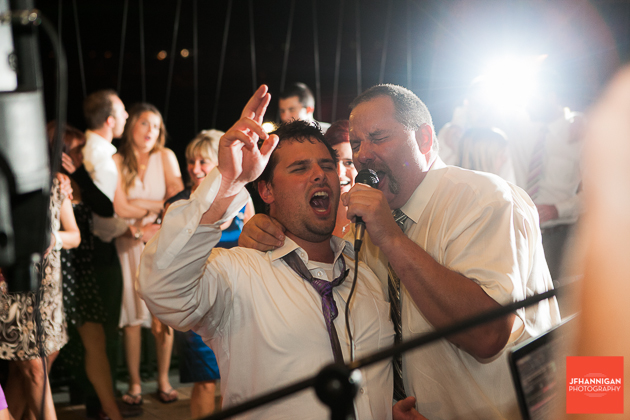 niagara, wedding, joel, hannigan, photography, bride, groom, singing, groom