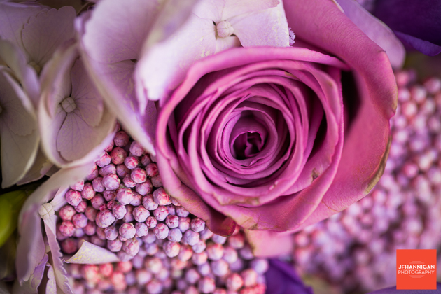 niagara, wedding, flowers, purple, macro