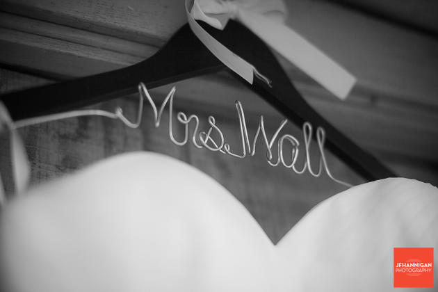 niagara, wedding, coat, hanger, personalized,