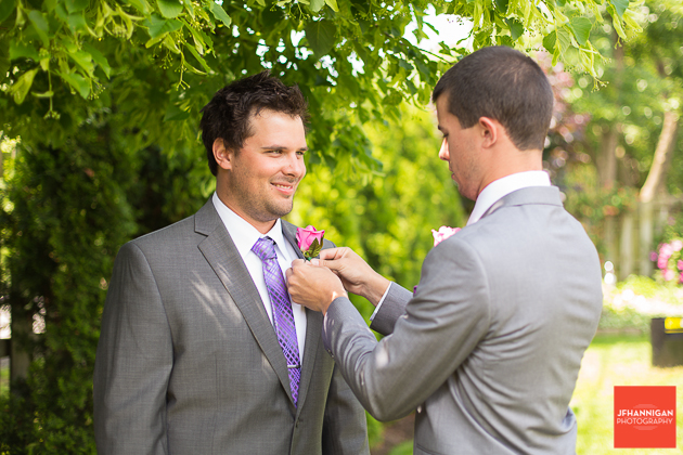 niagara, wedding, joel, hannigan, photography, groom, brothers,
