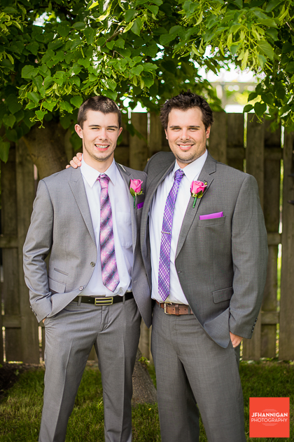niagara, wedding, joel, hannigan, photography, groom, purple, suit
