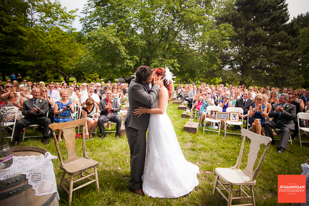 niagara, wedding, joel, hannigan, photography, kiss,