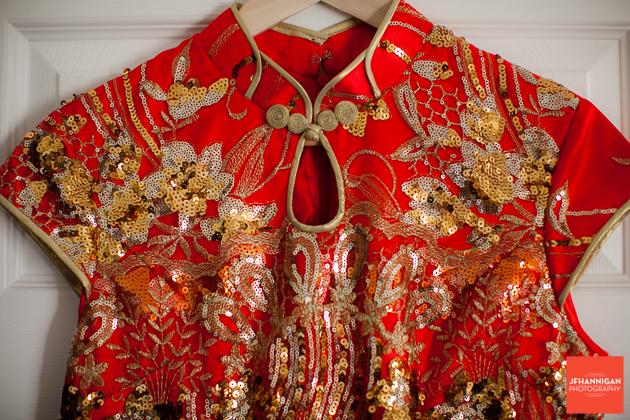 oriental bridal gown