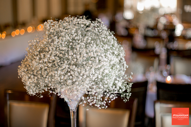 baby's breath table flower arrangements