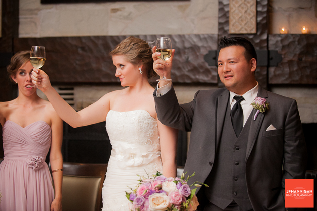 wedding reception toast