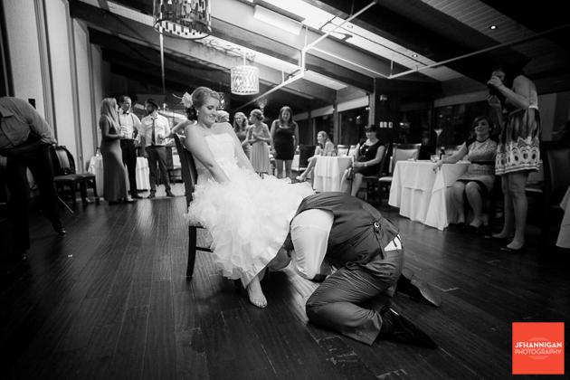 groom gets garder