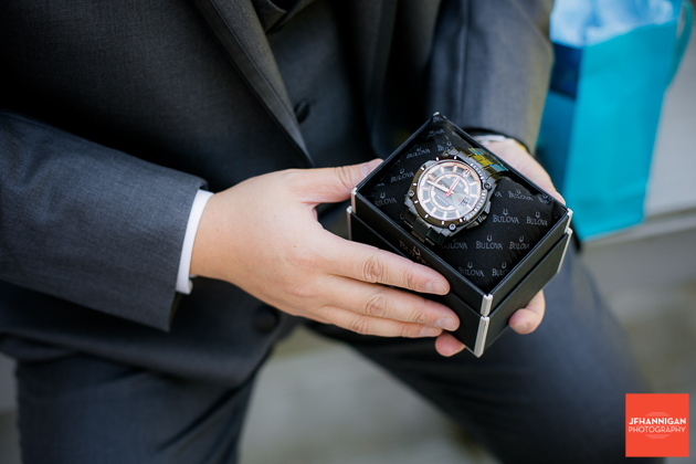 groom's watch gift