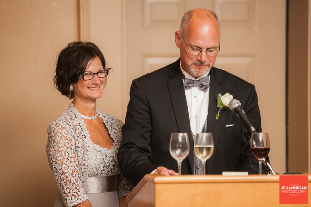 bride's parent's speech