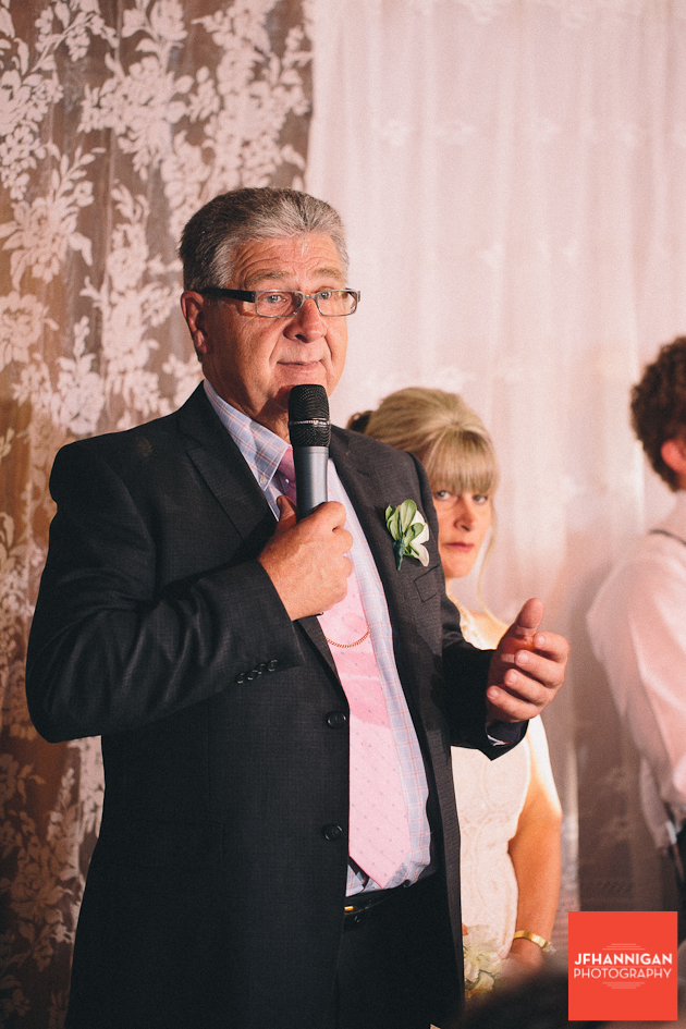 bride's father speech at reception