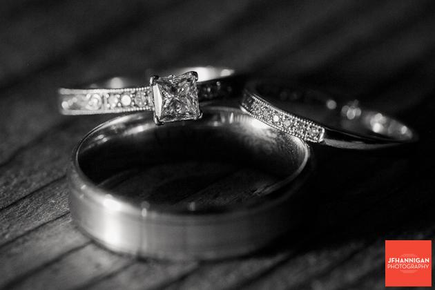 wedding rings Niagara Wedding photographer