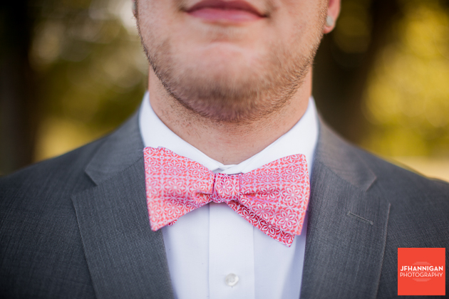 groom's bow tie Niagara Wedding Photographer