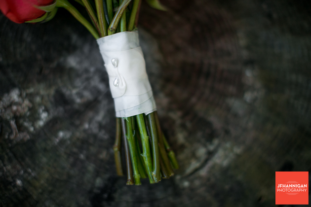 stem of bridal bouquet Niagara Wedding photographer